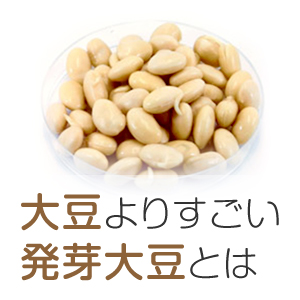 大豆よりスゴイ発芽大豆とは