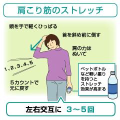 [糖尿病 運動] セーフティウォーキングのススメ-第73回(最終回) 肩こりを防ぐ-その2