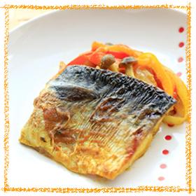 サバのカレー炒め煮
